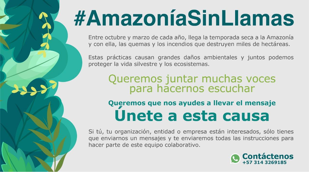 #AmazoniaSinLlamas una campaña que nos une