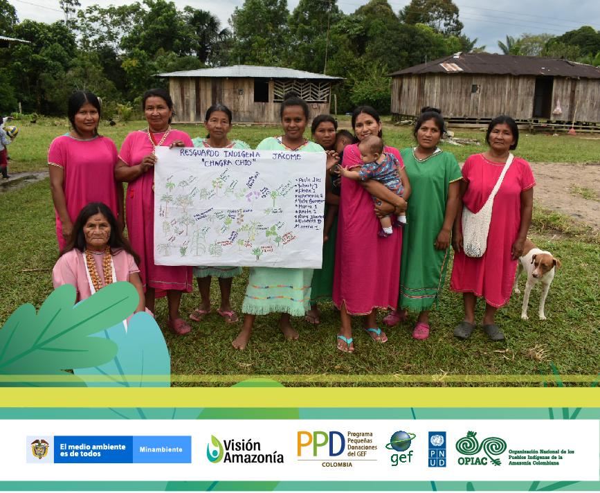 Recuperar tradiciones y conservar los bosques: objetivo de las mujeres indígenas Korebaju