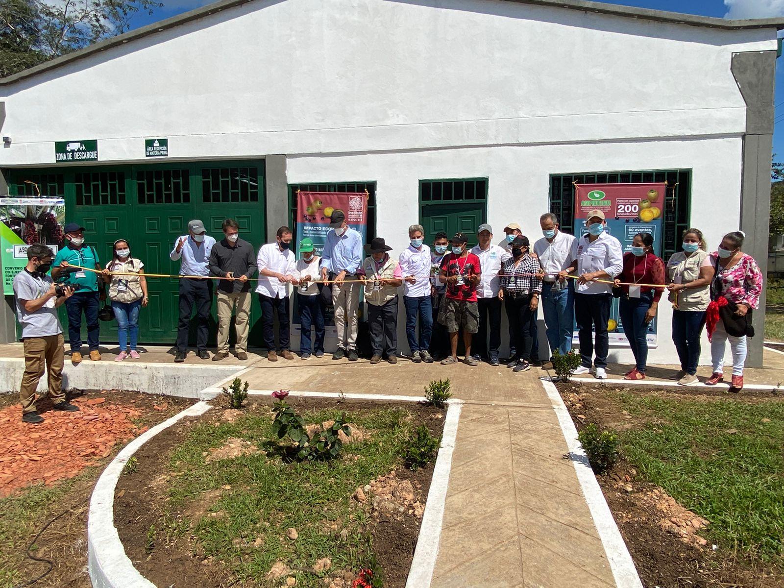 Dos nuevas plantas de producción sostenible se abren en el Guaviare con apoyo de Visión Amazonía